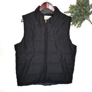 Weatherproof Vintage Puffy Winter Black  Vest